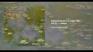 Keyboard Sonata in D major, Hob. XVI:33