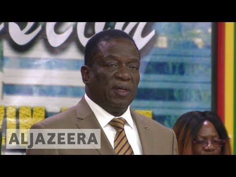 Zimbabwe's Mnangagwa calls for an end to sanctions