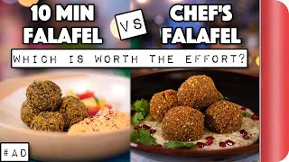 10 Min Falafel Vs Chefs Falafel - Which Is Worth The Effort?