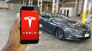 Tesla Model S P100D: The App!