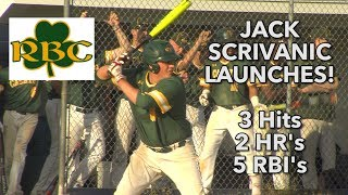 Red Bank Catholic 9 Middletown South 5 | HS Baseball | Jack Scrivanic 2 HRs 5 RBIs