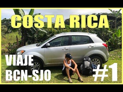 Costa Rica, viaje de Barcelona a San José | Vlog Día 1