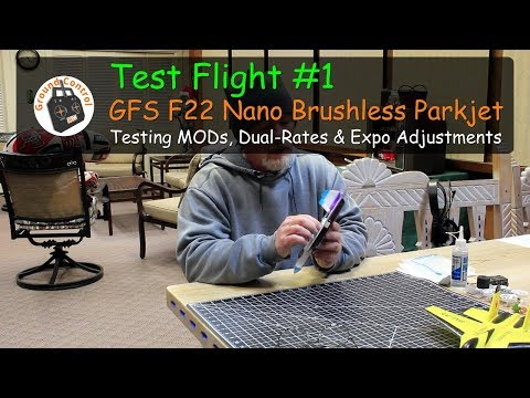 Review Part 2 - Happy Model EX1102 13500kv Motor Field Test Flight ;-)