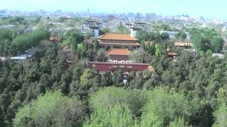Video : China : JingShan Park, BeiJing 北京 in spring-time