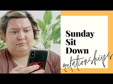Dating while FAT, Mental Health & Relationships | #SUNDAYSITDOWN