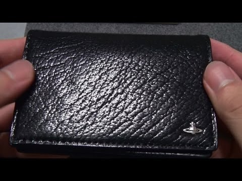 Vivienne Westwood Business Card Case unboxing