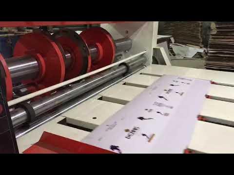RS-4 Combined Creasing & Slotting Machine