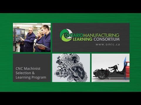 OMLC CNC Machinist Training Program - YouTube