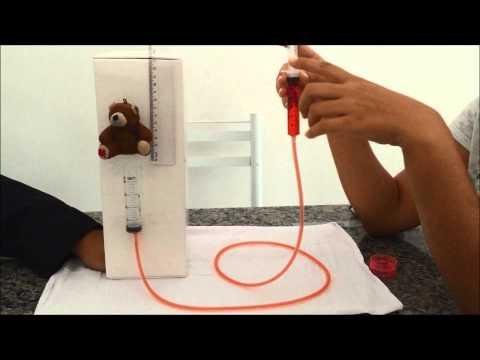experimento: Pressão, Princípio de Pascal e Princípio de Arquimedes