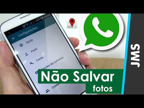 Não salve fotos e arquivos no seu WhatsApp! Saiba mais