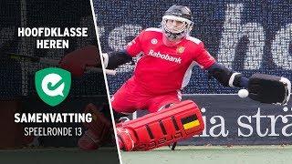 Hoofdklasse (H): Samenvatting Speelronde 13 (seizoen 2019/2020)