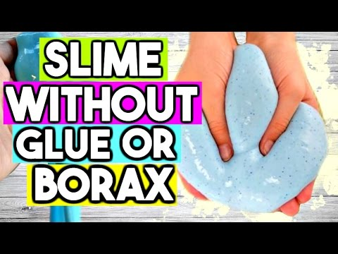 Video How to Make SLIME WITHOUT Glue OR Borax! 2 Ways Easy ASMR Slime Recipe!