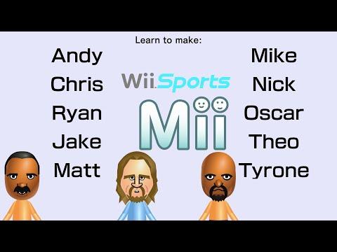 Remake Wii Sports Resort Miis #3