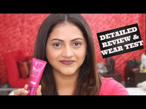 New Loreal MAT MAGIQUE 12HR MAT FOUNDATION Review & Demo | GoGlam