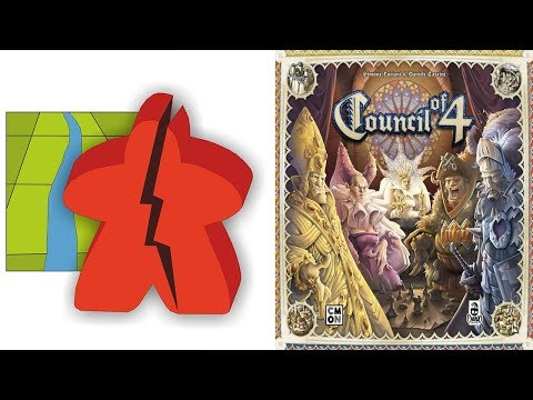 The Broken Meeple - Council of 4 Review