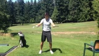 Quick Golf Warmup 7/7