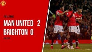 Cuplikan Gol Manchester United saat Taklukkan Brighton dengan Skor Akhir 2-0