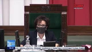 Niejawne posiedzenie Sejmu