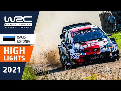 WRC 2021 第7戦ラリー・エストニア シェイクダウンのハイライト動画
