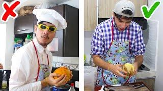 Los 5 Trucos y Tutoriales Más Absurdos De Cocina - Top Manias