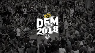 NITRO Vs. RODAMIENTO: FINAL   DEM Final 2018