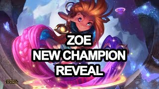 Zoe - The Aspect of Twilight | New Champion Reveal