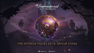 The International 2019 - Group Stage : Day 3 | TEAM SECRET VS PSG.LGD (0-0)