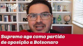 Rodrigo Constantino: Inquérito contra Bolsonaro expõe novamente a militância do STF