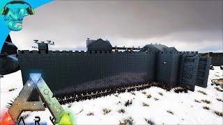 World War ARK - Prisoners Being Taken 2 Men 1 Base Raid the Snow Castle Base! S2E11 ARK Survival