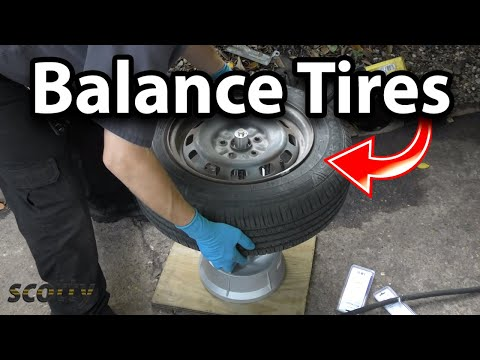 How to Balance Your Car's Tires