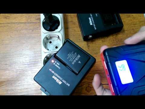 Как зарядить фотоаппарат от портативного акб ? Зарядка для зеркального фотоаппарата никон