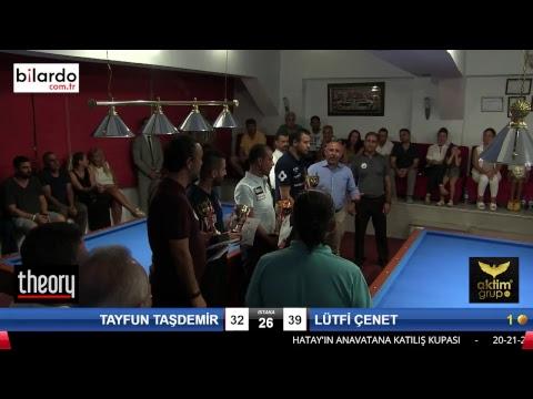 TAYFUN TAŞDEMİR & LÜTFİ ÇENET Bilardo Maçı - HATAYIN ANVATANA KATILIŞ KUPASI-Final