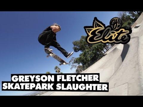 Elite Urethane   Greyson Fletcher's Skatepark Slaughter
