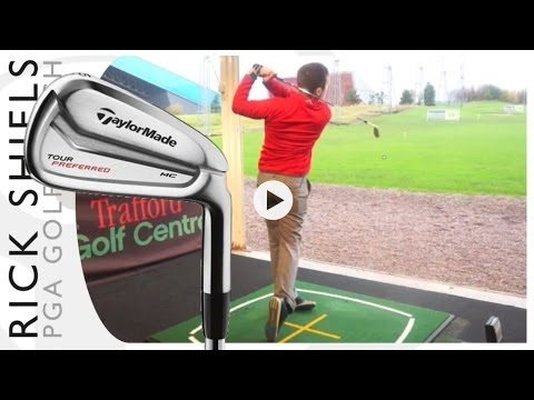 TAYLORMADE TOUR PREFERRED MC IRONS TESTED WITH GC2