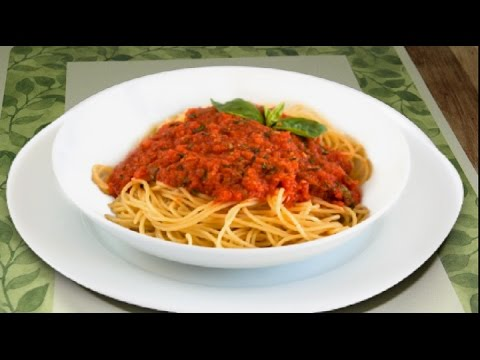 Video Meatless Meat Sauce Video Recipe   No Meat Meat Sauce by Bhavna