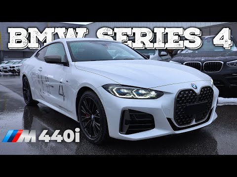 New BMW 4 Series Coupe M440i 2021
