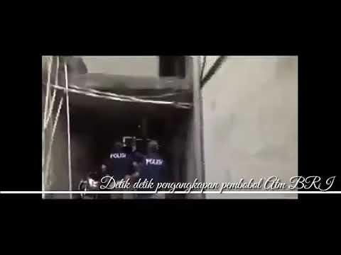 Detik detik penangkapan pembobol ATM BRI