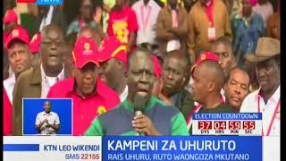 Kampeni za Uhuruto: Jubilee yafanya mkutano Uhuru Park
