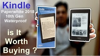 Amazon Kindle Paperwhite 2018 10th Generation Waterproof Unboxing & Review