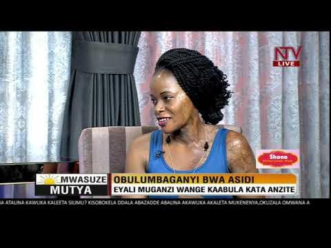 Mwasuze Mutya: Emboozi ya Linette Kirungi, Eyali muganzi we yamuyiira acid