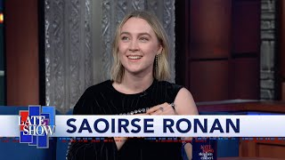 Saoirse Ronan Enjoyed Having The Emotional Upper Hand Over Timothée Chalamet In ''Little Women''