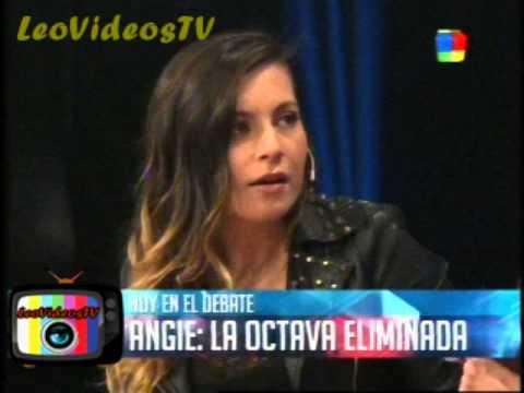 Comienzo Debate con Angie se defiende GH 2015 #GH2015 #GranHermano