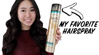 Loreal Paris Elnett Satin Hairspray Review + Wear Test | My Favorite Hairspray