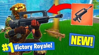 *NEW* LEGENDARY BURST RIFLE GAMEPLAY In Fortnite Battle Royale!