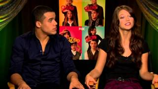Glee - Interview with Jacob Artist and Melissa Benoist