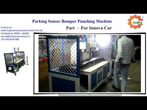 SPM Machine for Parking Sensor Bumper Punching Machine