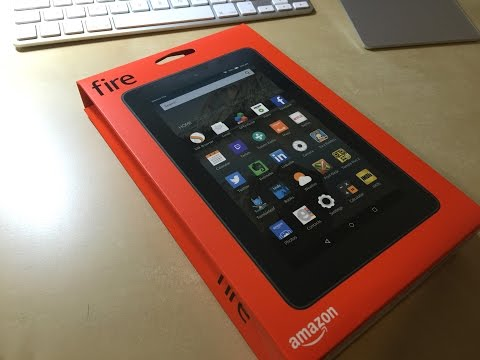 Unboxing & erster Eindruck: Amazon fire (7 Zoll)