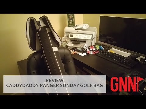 REVIEW: Caddy Daddy Ranger Sunday golf bag