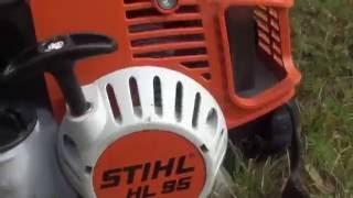 • Taille de Lauriers avec un Stihl HL95