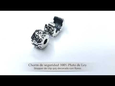#Abalorio de seguridad con cierre de clip para tu #pulsera #Pandora